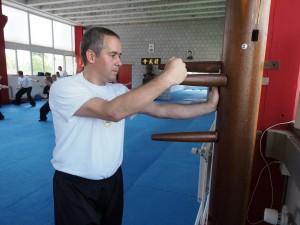 Holzpuppen Training