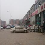 Einkaufen am  Stadtrand von Tianjin