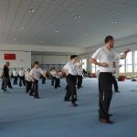 Training in der Chin-Woo Schule in Tianjin