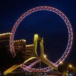 Das Riesenrad in Tianjin