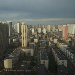 Blick auf Datong (aus dem 25. Stock)